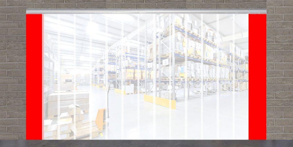 weich pvc streifenvorhang lamellenvorhang g nstig kaufen